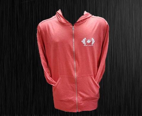 ***New*** Naturally Fit Proudly Canadian Thin Zip Hoodie