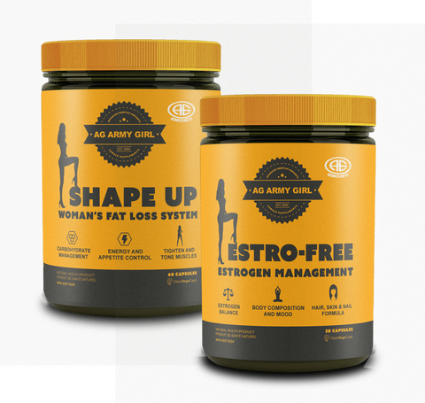 **Advanced Genetics, Dual Pack Estro-Free & Shape Up Only $74!