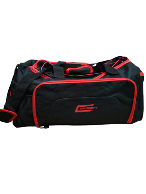 Cygen Gym Bag - Black/ Red