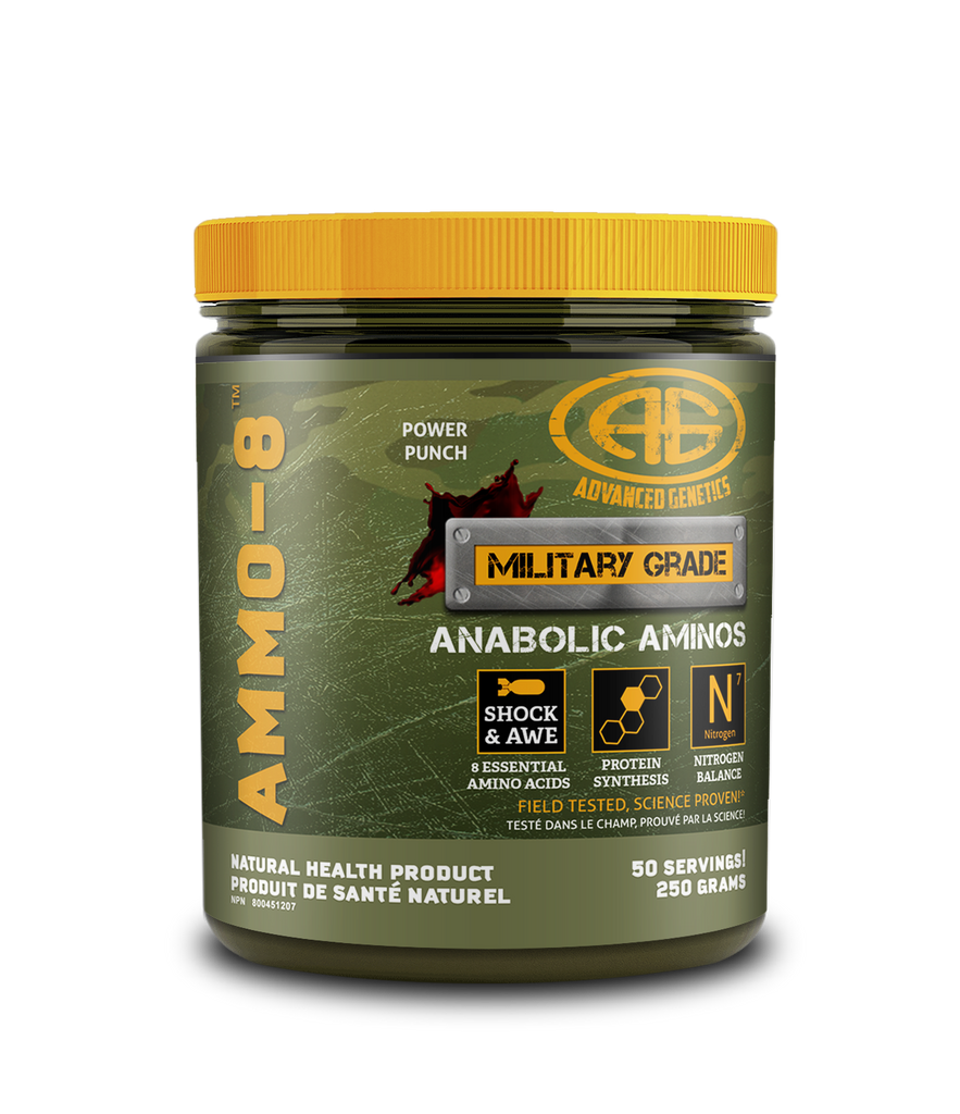 Advanced Genetics, AMMO 8 (50 Servings)