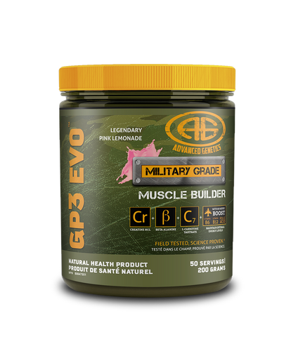 *Advanced Genetics, GP3 EVO (200gms)