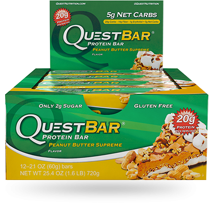 Quest, Peanut Butter Supreme - Box of 12
