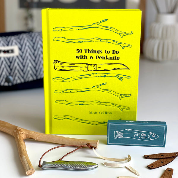 50 Things to do with a Penknife by Matt Collins