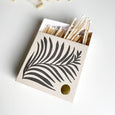 Luxury Letterpress Matches - One Tree Hill / White Fern