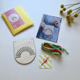 Rainbow Embroidery Kit by Cotton Clara