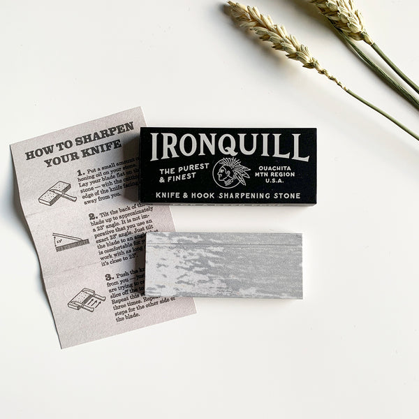 Ironquill Sharpening Stone