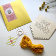 Be Kind Tasseled Embroidery Kit by Cotton Clara