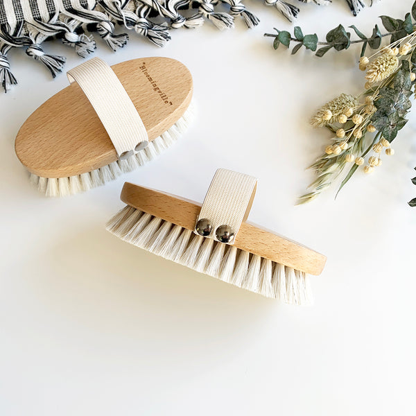 Beechwood Body Brush
