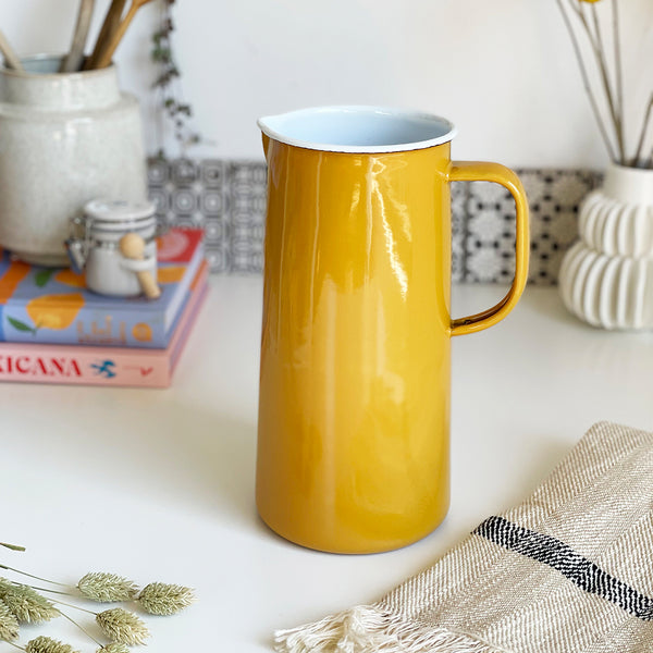 Enamel Jug by Falcon
