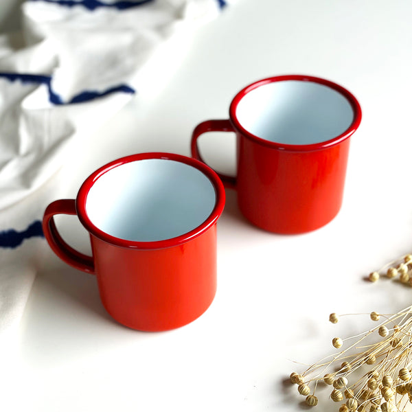 Enamel Mug by Falcon