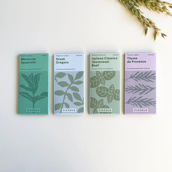 Herbs & Spices Seed Collection by Piccolo