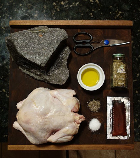 How To Cook a Classic Brick Chicken