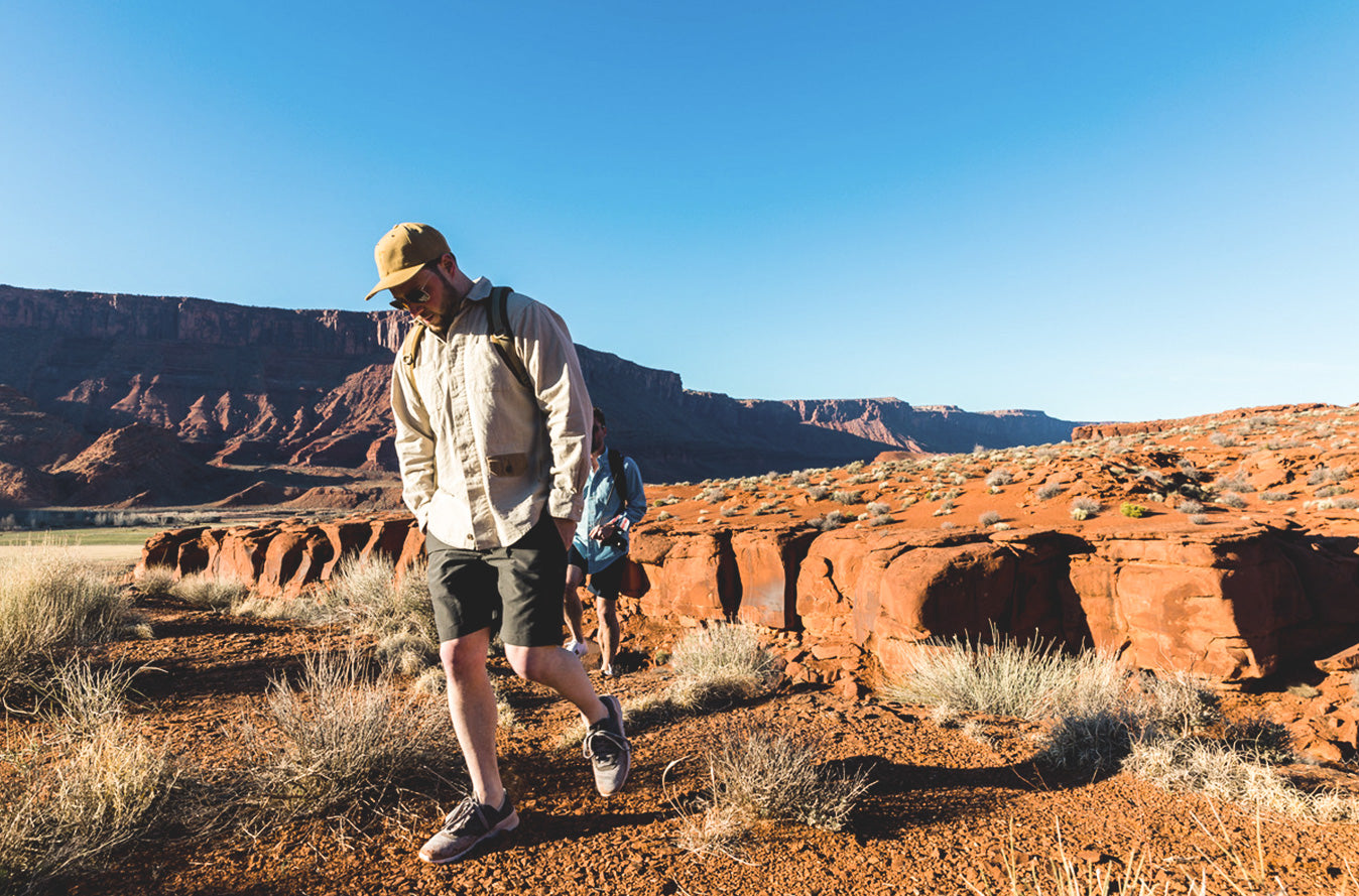 Signature Canvas Hat | Mariners Overshirt - Natural | 6 Point Short - Olive