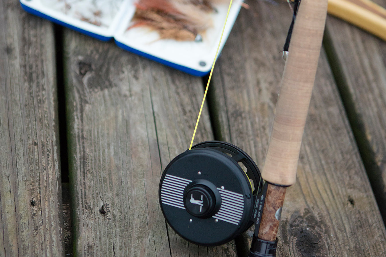 Abel x Ball and Buck Fly Fishing Reel