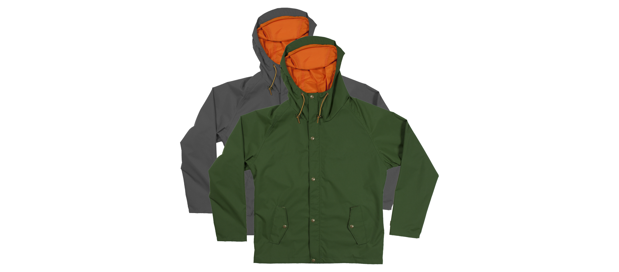 Freeman x Ball and Buck Premium Rain Jacket | 01