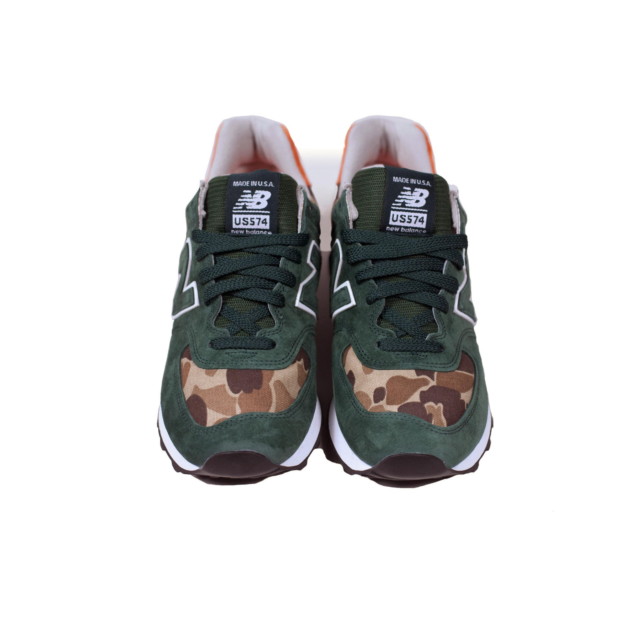 New Balance x Ball and Buck Mountain Green Front