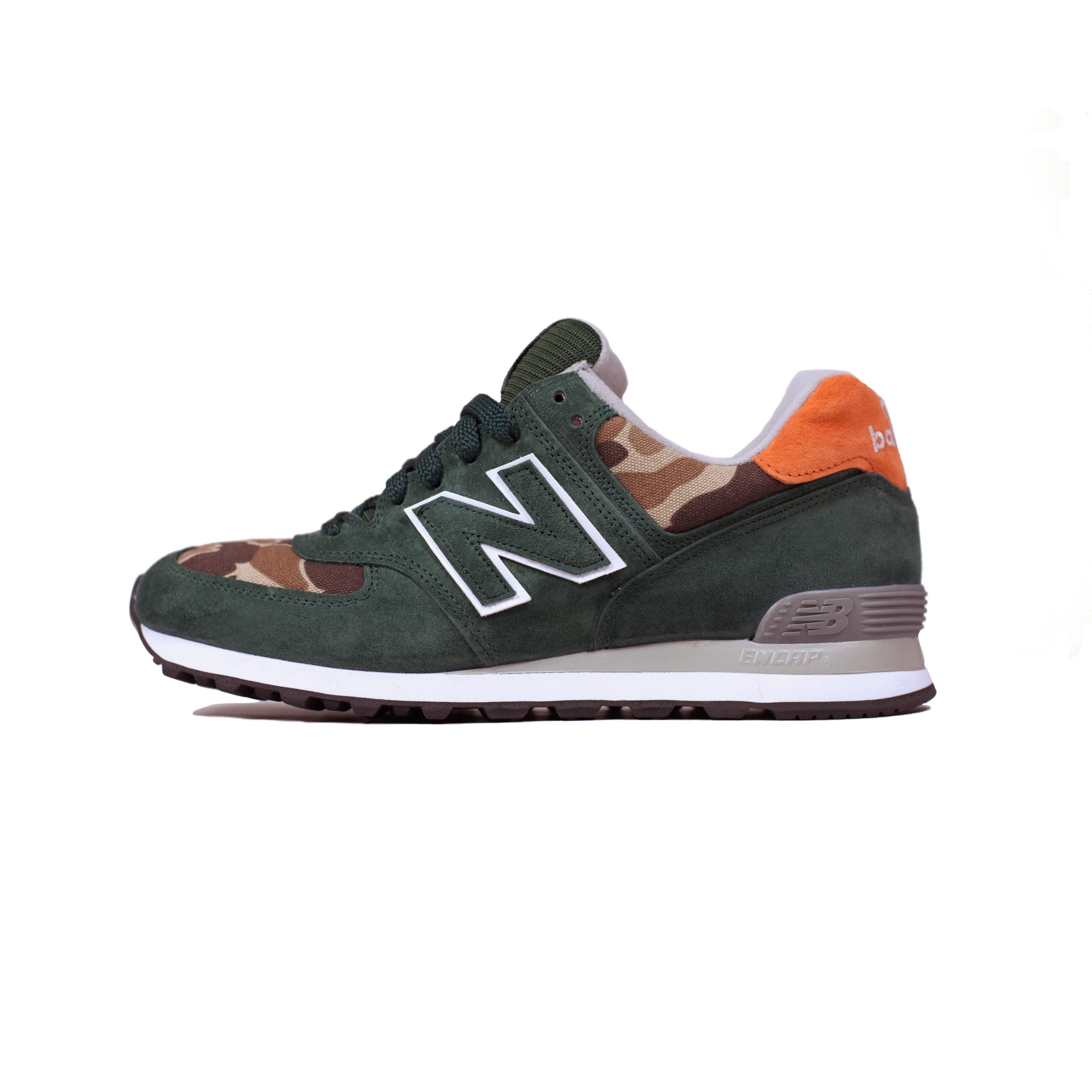 New Balance x Ball and Buck Mountain Green Left Side