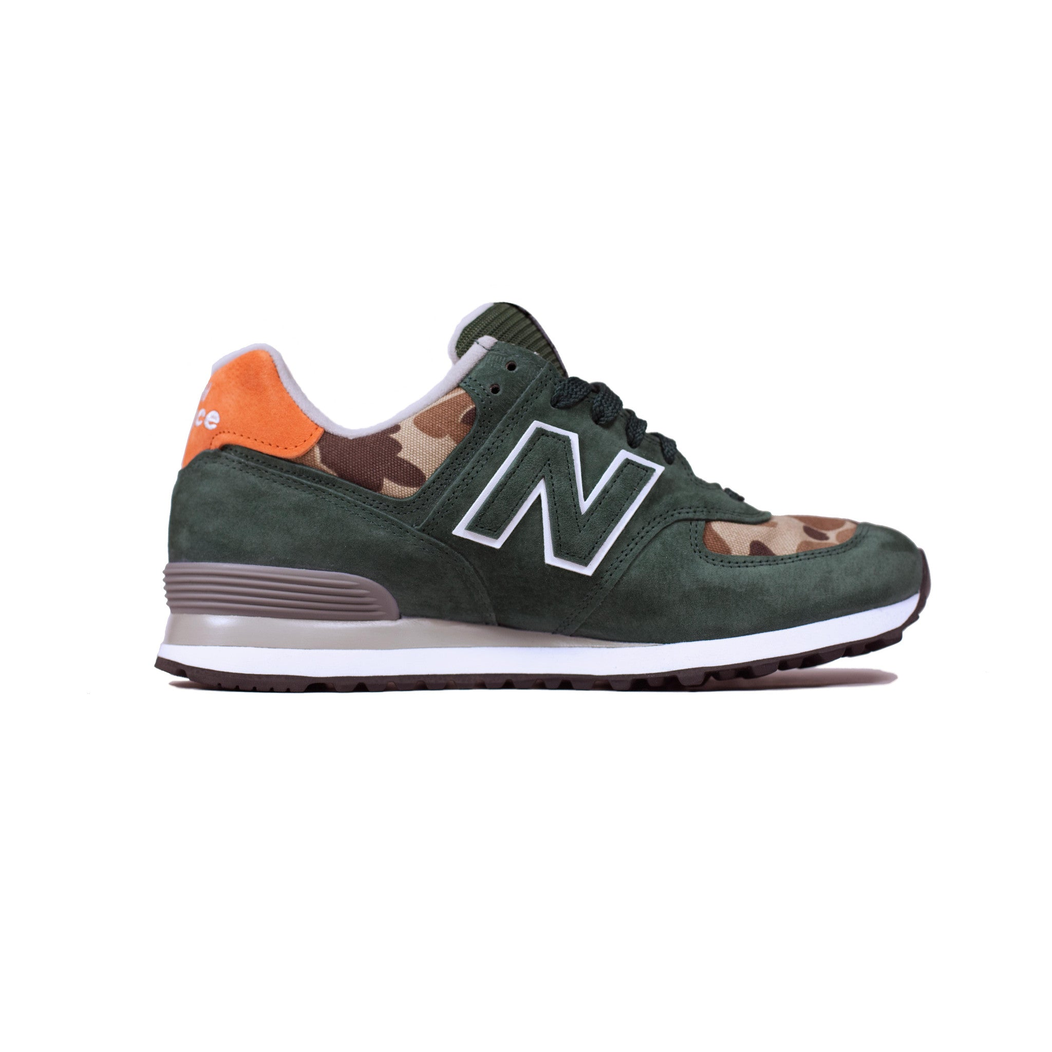 New Balance x Ball and Buck Mountain Green Right Side