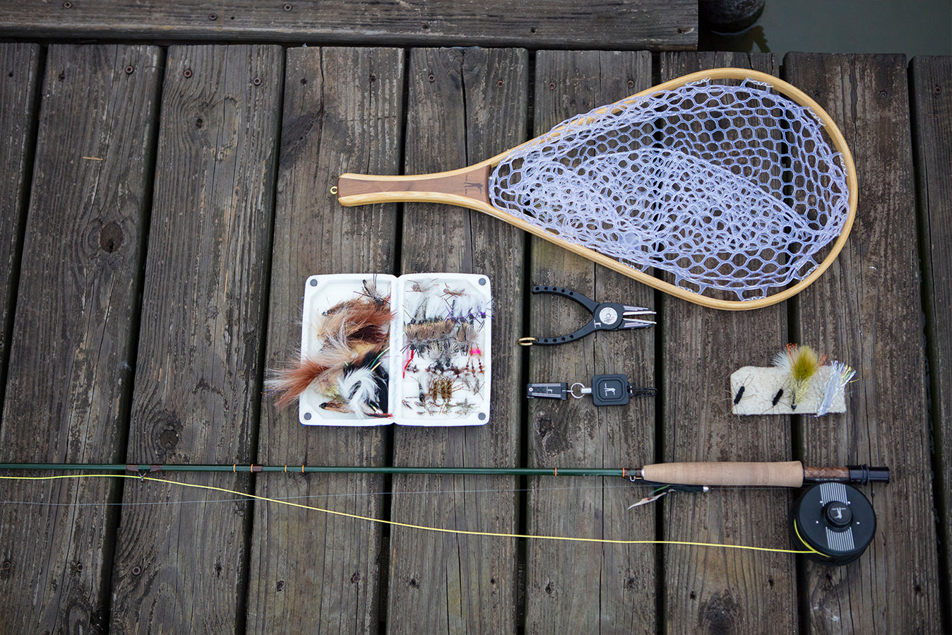 Handmade Fishing New, Walnut | The Fly Patch | Abel x Ball and Buck Nippers | Abel x Ball and Buck Zinger