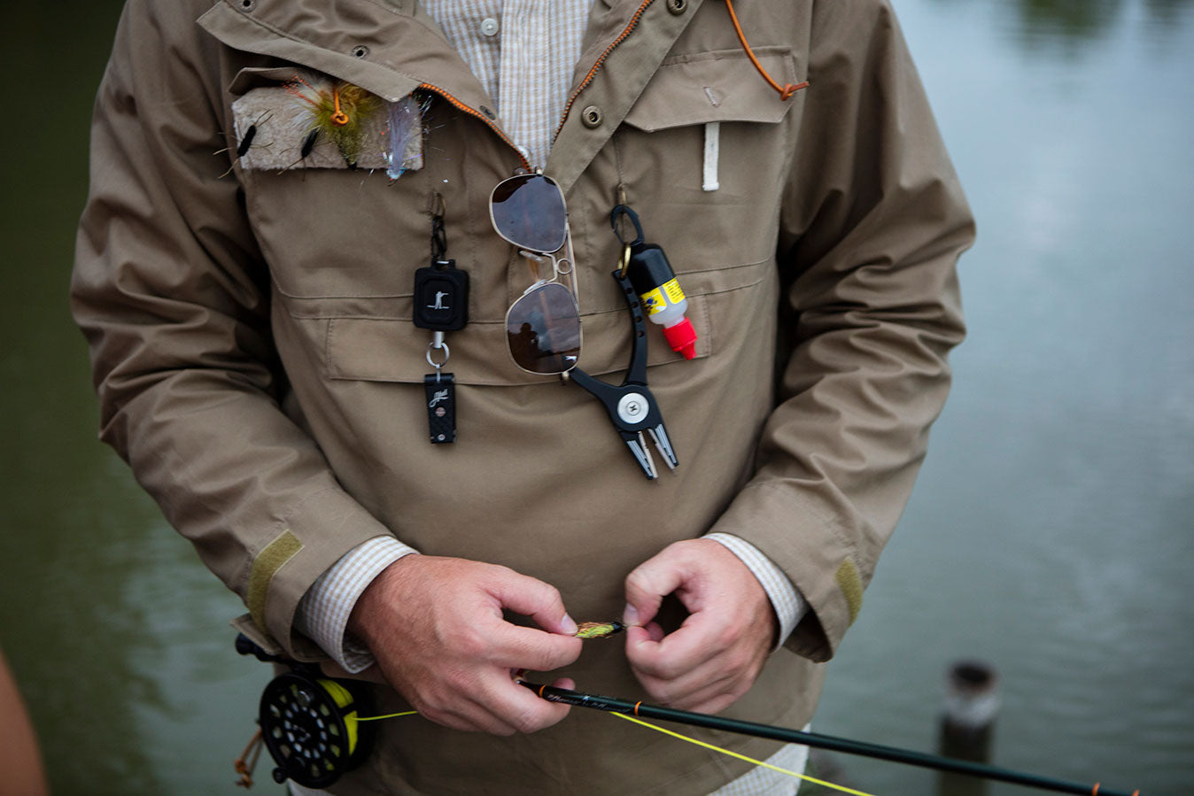 The Fly Patch | Abel x Ball and Buck Zinger | Abel x Ball and Buck Nippers