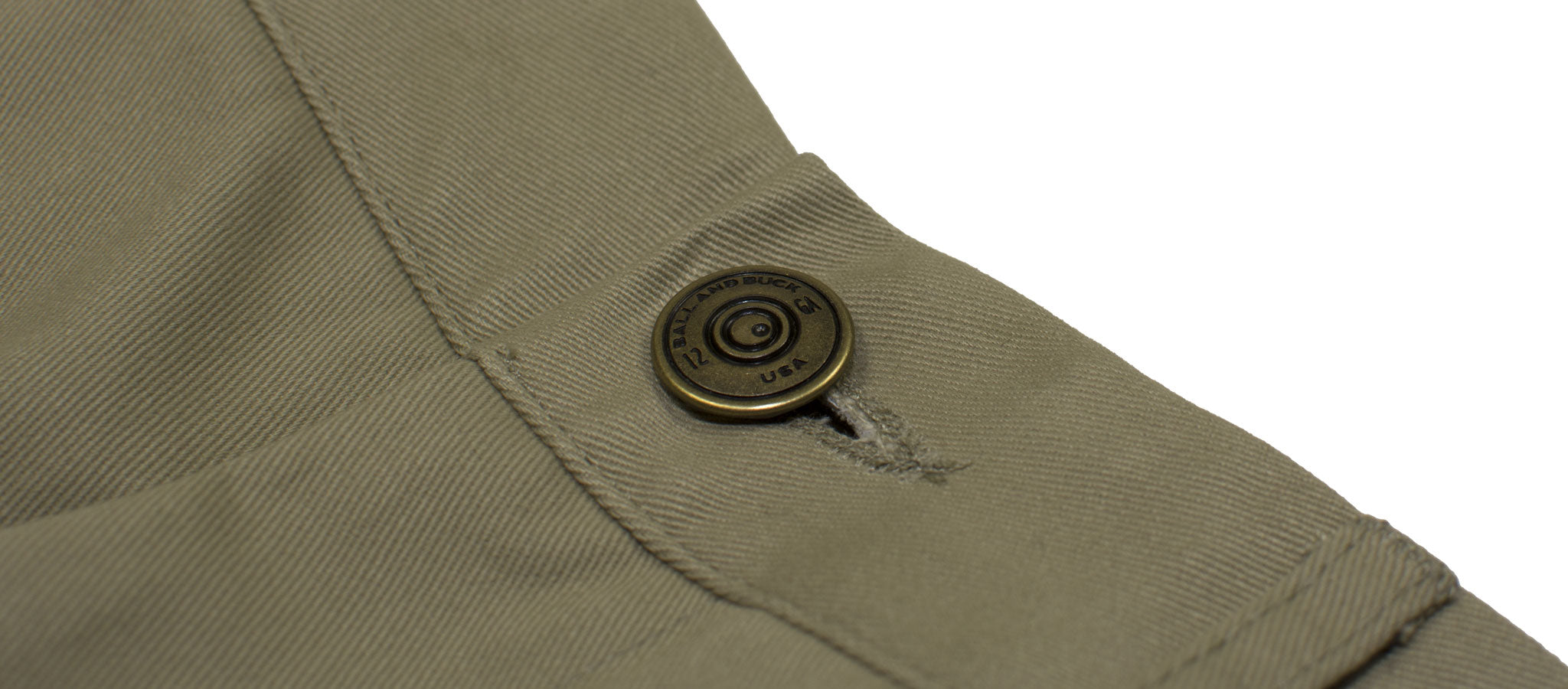 The 6 Point Pant | Shotgun Shell Button