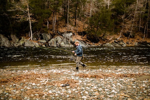 On Location At Deerfield River, MA
