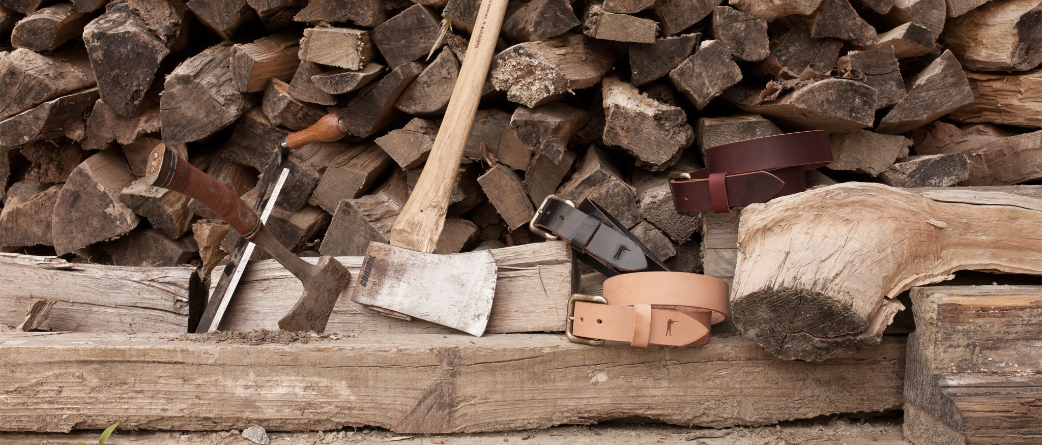 The Last Belt You'll Ever Buy by Ball and Buck | Wood Stack Lifestyle