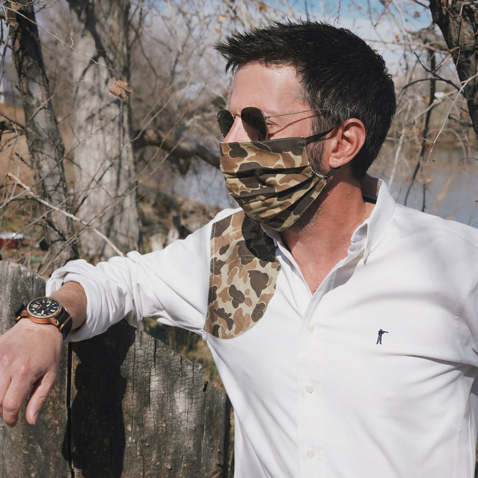 The Original Camo Face Mask