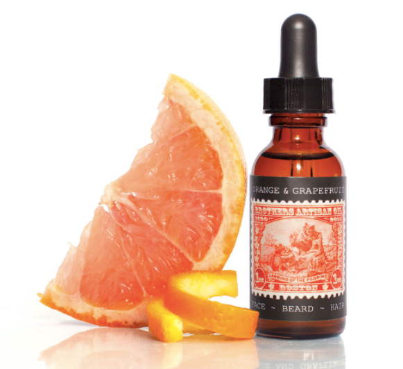 Brothers Artisan Oil - Orange & Grapefruit Beard Oil