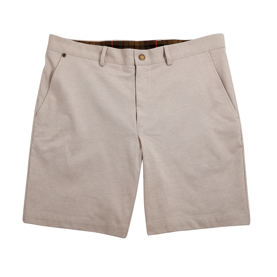 6 Point Short + Sand Coolmax Knit