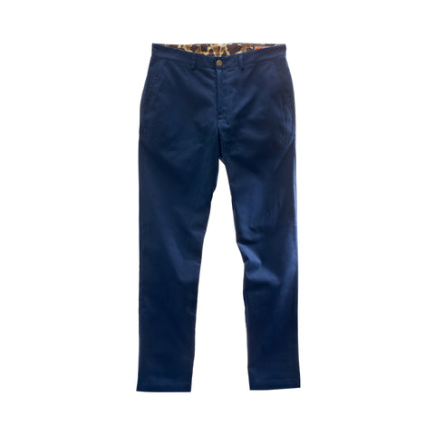 The 6 Point Duck Cotton Pant, Navy
