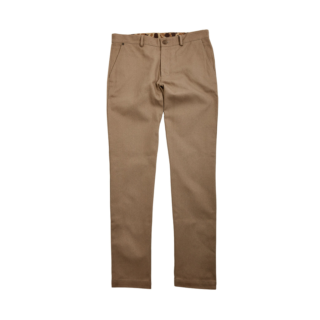 6 Point Duck Cotton Pant - Khaki