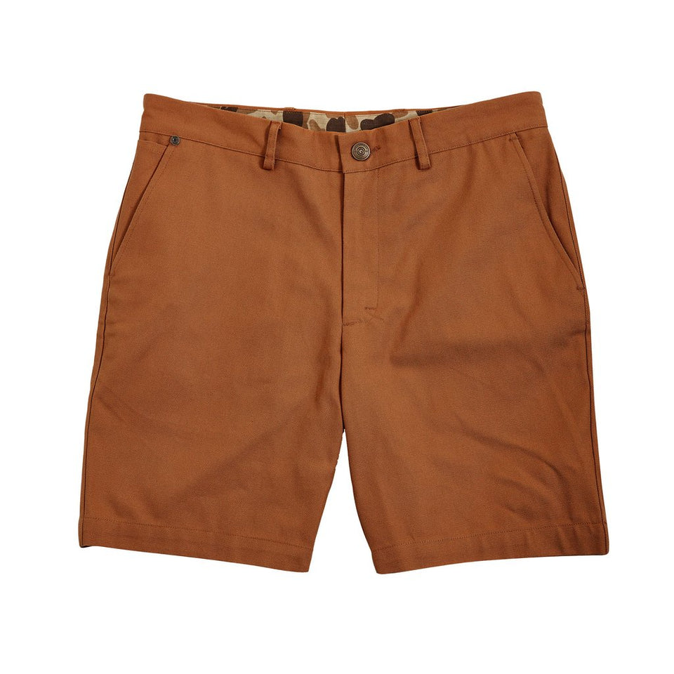 6 Point Short Duck Cotton - Caramel - Ball and Buck