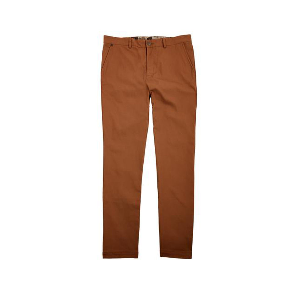 6 Point Duck Cotton Pant - Caramel