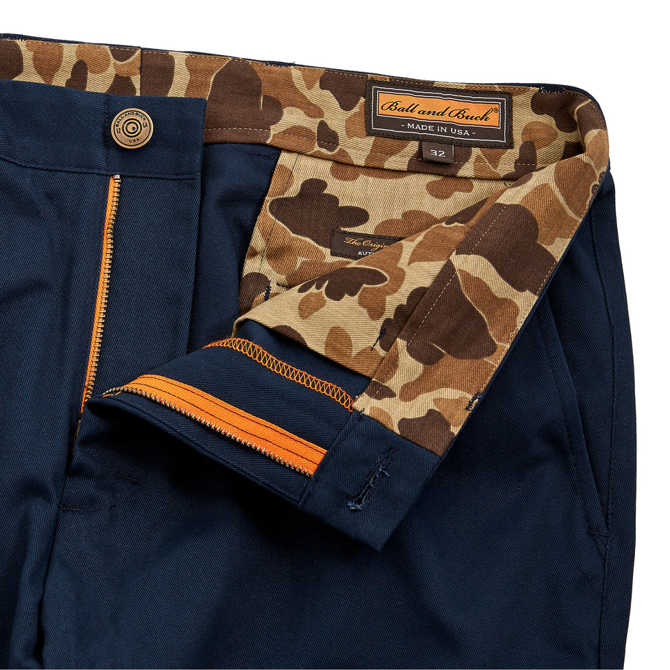 6 Point Pant - Navy 1.0 - Ball and Buck
