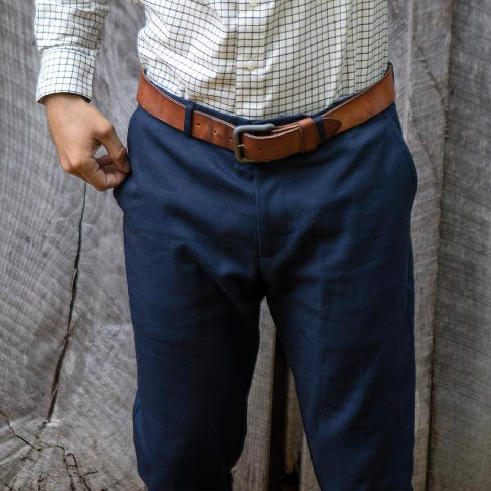 6 Point Pant - Navy - Ball and Buck