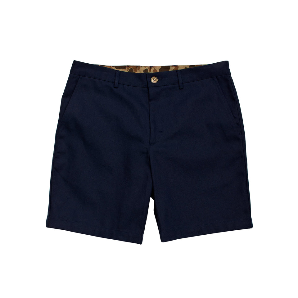 6 Point Short Duck Cotton - Navy