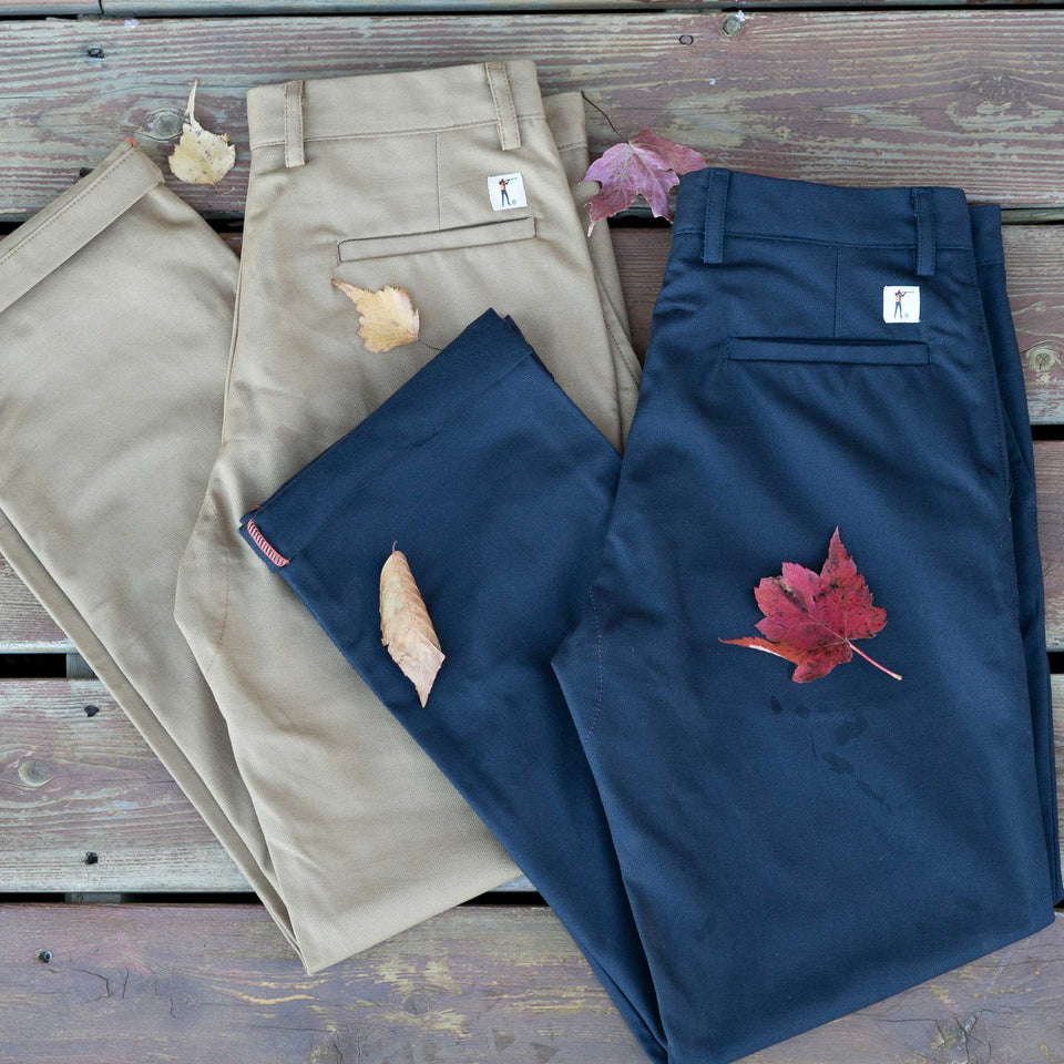 8 Point Pant - Cavalry Twill - Khaki - Ball and Buck