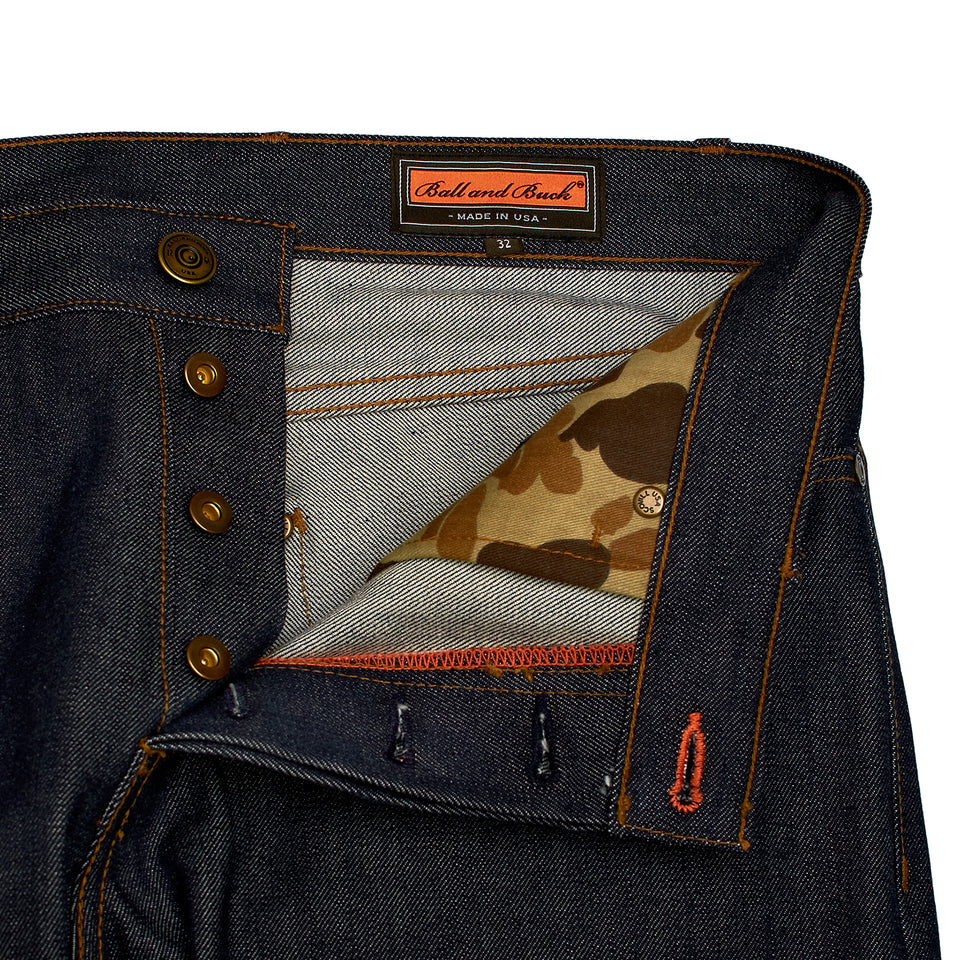8 Point Denim - Selvage - Ball and Buck