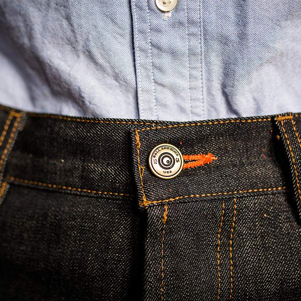 8 Point Denim - Selvage