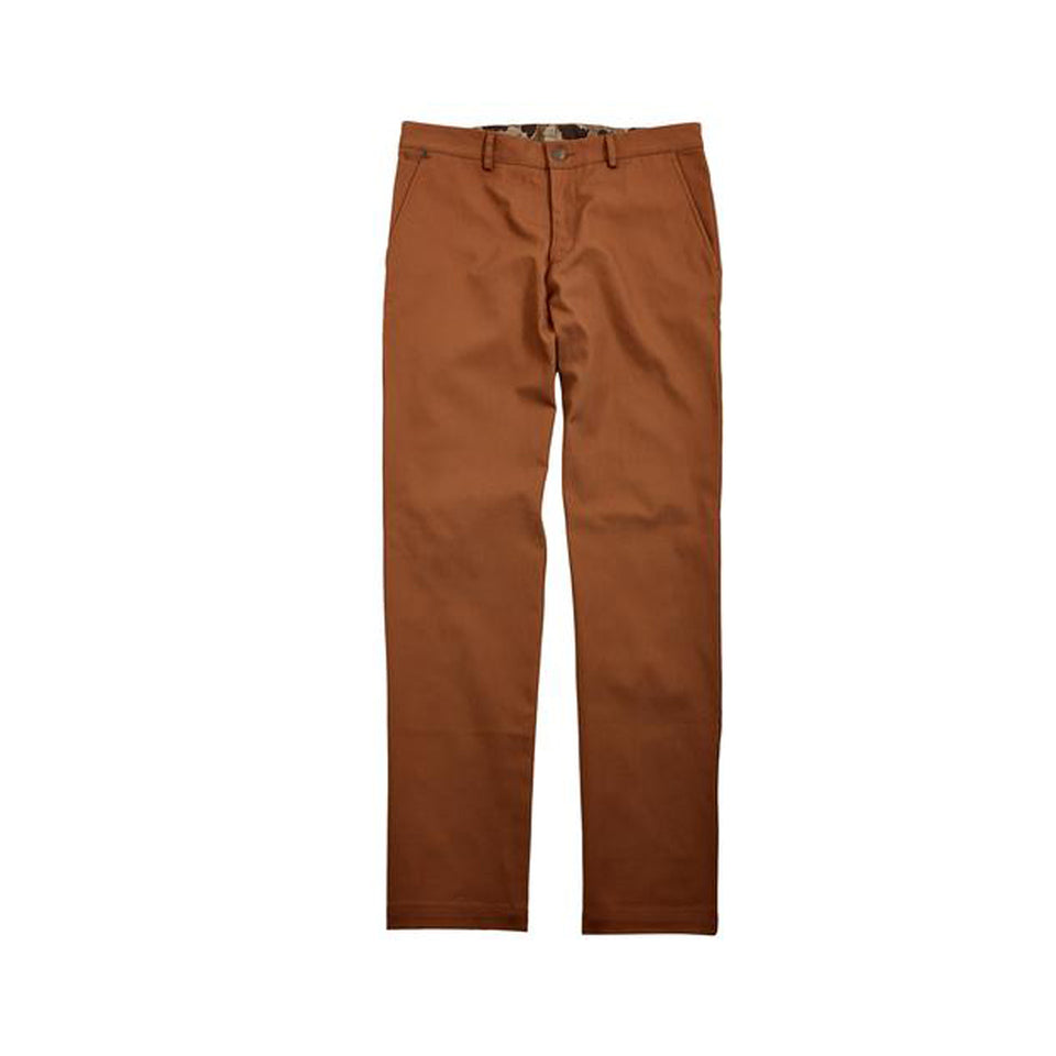 8 Point Duck Cotton Pant - Caramel