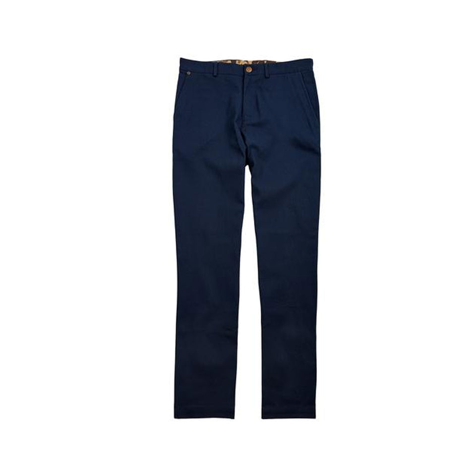 8 Point Duck Cotton Pant - Navy - Ball and Buck