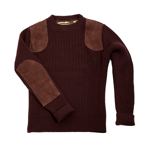 Commando Sweater - Maroon