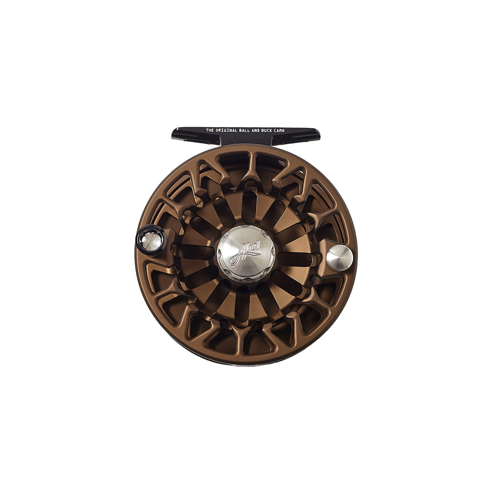 Abel x Ball and Buck Original Camo Fly Reel