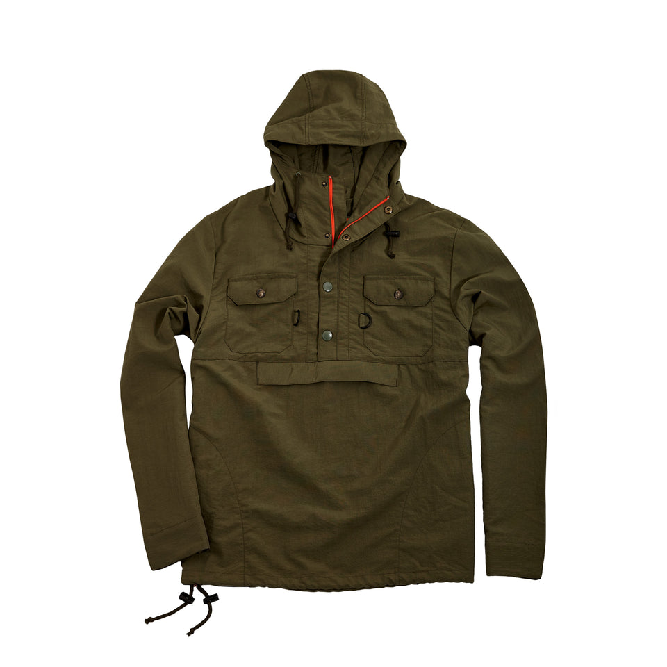 Active Anorak + Olive - Ball and Buck