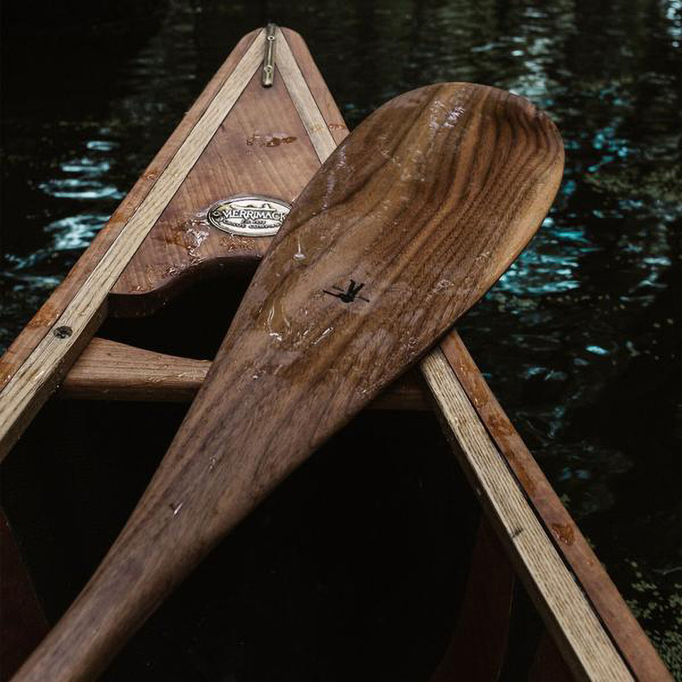 The Ball and Buck Canoe Paddle
