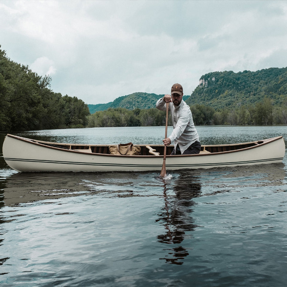 The Ball and Buck Signature Canoe