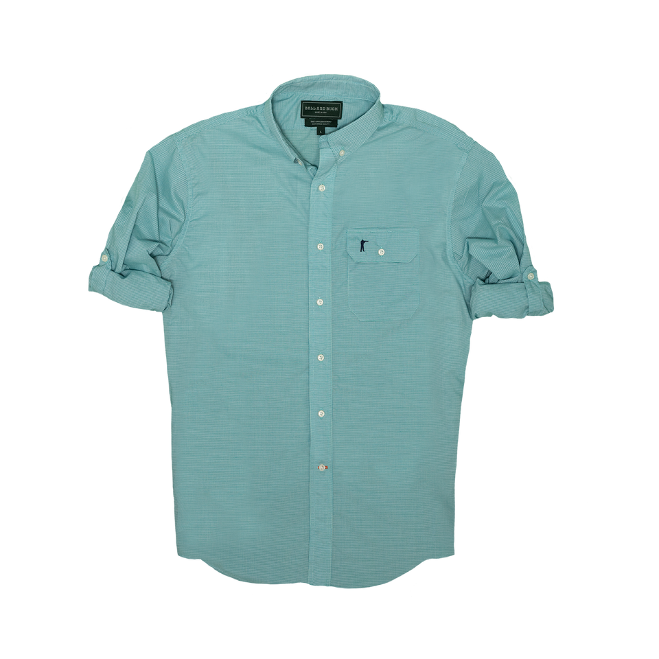 Anglers Shirt - Billings Check - Ball and Buck