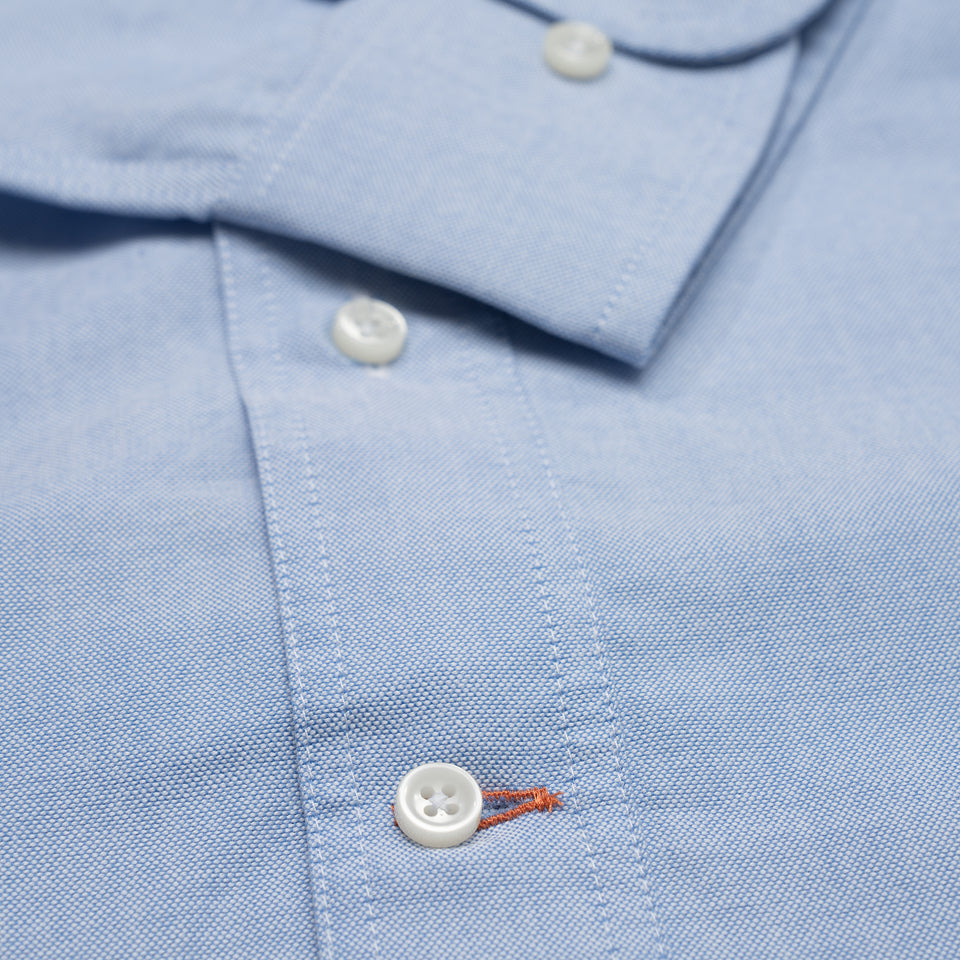 Sportsmans Shirt - Blue Oxford - Ball and Buck