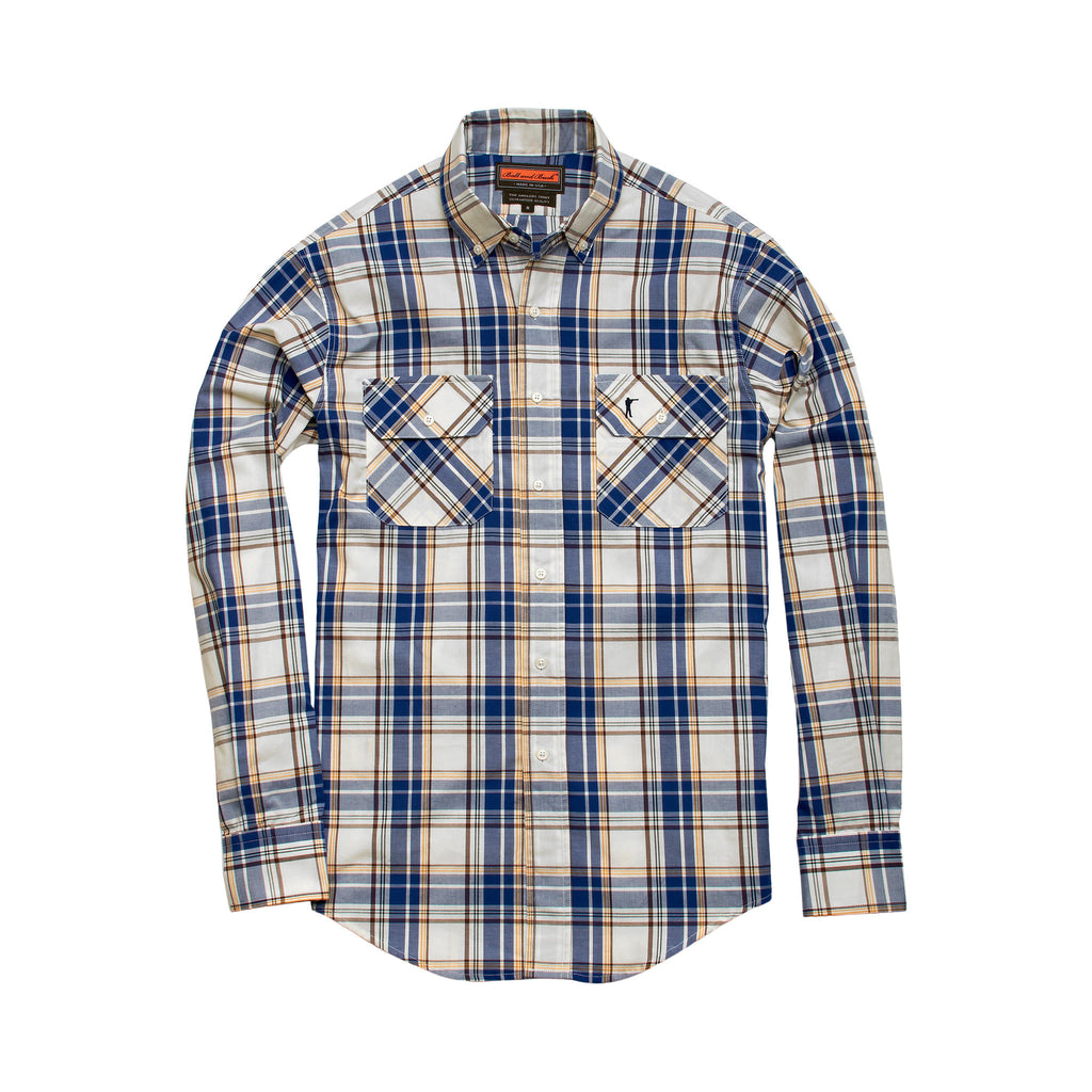 Anglers Shirt - Bluegill Plaid